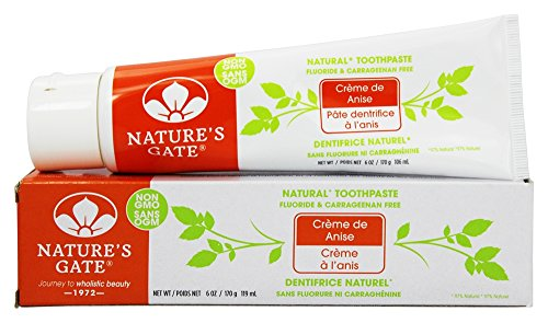 (Natural Toothpaste Creme De Anise - 6 Oz.)