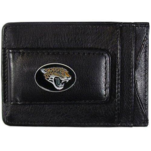(NFL Jacksonville Jaguars Leather Money Clip Cardholder)