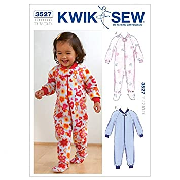 Kwik Sew Schnittmuster 3527 Kinder-Schlafanzug Wear O/S): Amazon.de ...