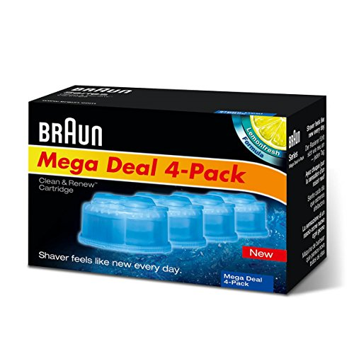 Braun CCR2 Cleaner Refill Kit (4 pack)