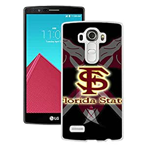 Popular And Unique Custom Designed Case For LG G4 With NCAA Atlantic Coast Conference ACC Footballl Florida State Seminoles 10 White Phone Case