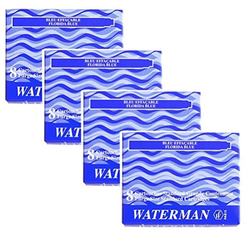 WATERMAN 만년필 카트리지 잉크 4박스