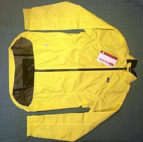 Sugoi Womens Zap Bike Jacket, Super Nova Yellow, Medium
