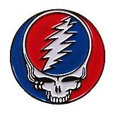 Grateful Dead Steal Your Face Enamel Pin