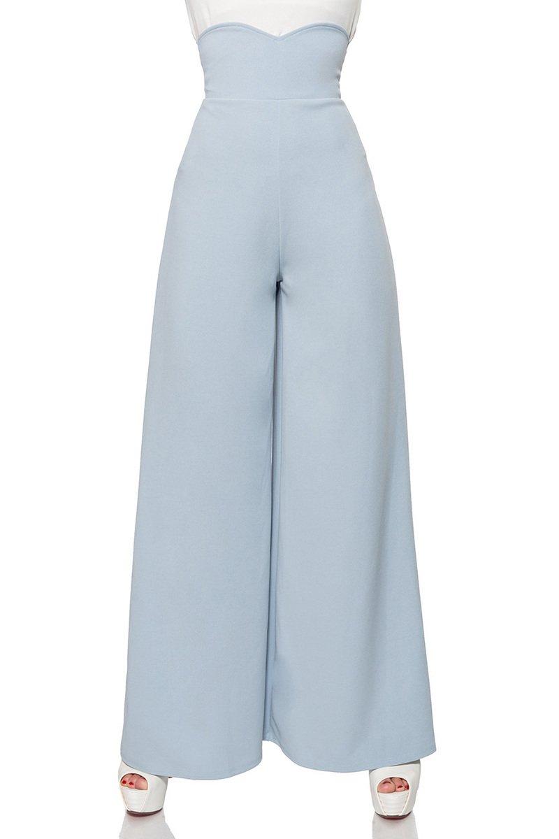 Marlenehose mit hohem Bund 50074 - eleganter Retro-Look von Belsira