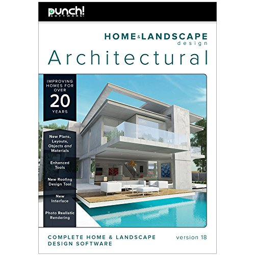 Punch home design architectural series 4000 home design plan for Home landscape design architectural series v17
