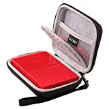 LTGEM EVA Hard Case Shockproof Carrying Bag for WD 1TB 2TB 3TB 4TB USB 3.0 My Passport Portable External Hard Drive