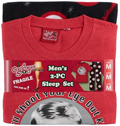 Briefly Stated Mens A Christmas StoryYou'll Shoot Your Eye Out Pajamas (Large) -