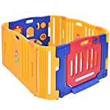 PE Baby Playpen With Ebook