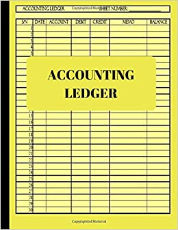 accounting ledger basic ledger book for monthly weekly personal