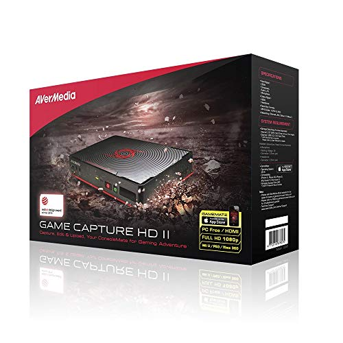 AVerMedia Game Capture HD 2, High Definition 1080p, Record, Commentate, Edit and Upload without a PC, Stand Alone Video Recorder, PVR, DVR (C285) (Avermedia Game Capture)