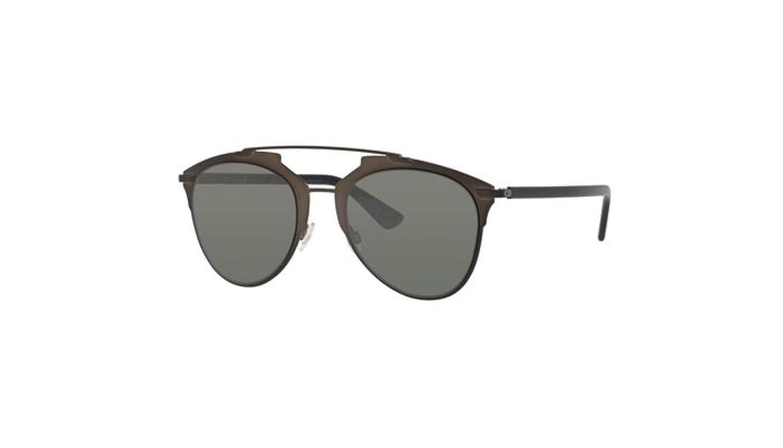 2f4e8d6aad Amazon.com  Authentic Christian Dior REFLECTED M2P SF Black Metallic Lz  Black Sunglasses  Clothing