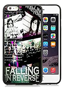 For iPhone 6 Plus,100% Brand New falling in reverse Black For iPhone 6 Plus(5.5) TPU Case