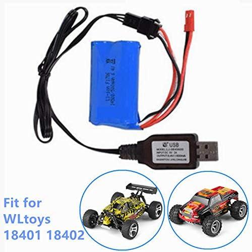 Bateria recargable 500mAh 6.4V conectores JST SM3P