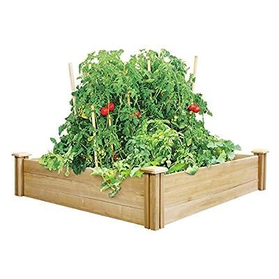 Greenes 4 x 4 ft. x 10.5H in. Cedar Raised Garden Kit