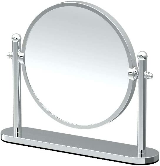GATCO 1391 Table Mirror, Chrome
