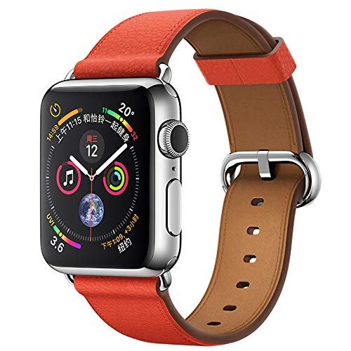 Accessory for Apple Watch Serise 4!!!Kacowpper New Fashion Genuine Leather Watch Band Wrist Straps for Apple Watch Series 4 44MM/40MM!!Halloween Hot Sale!!!
