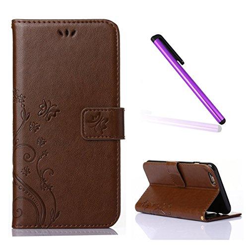 iphone-5s-case-emaxeler-stylish-vintage-pure-color-veins-scratch-resistant-case-wallet-case-kickstan