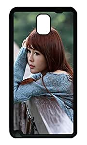Note 3 Case, Galaxy Note 3 Case, [Perfect Fit] Soft TPU Crystal Clear [Scratch Resistant] Loneliness Cute Back Case Cover for Samsung Galaxy Note 3 N9000 Cases