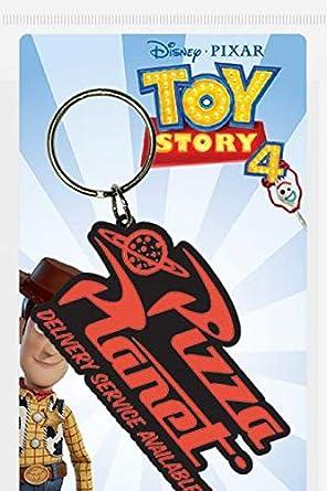 Toy Story 4 - Llavero Pizza Planet: Amazon.es: Videojuegos