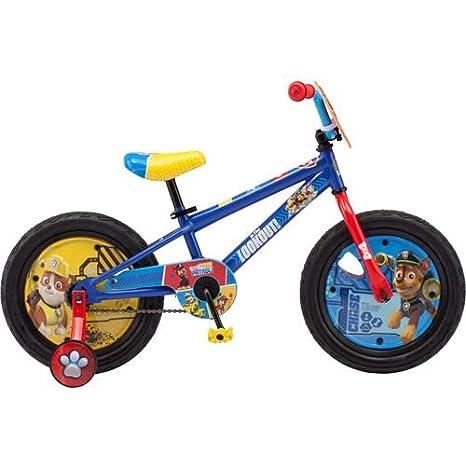 Amazon.com: PAW Patrol - Bicicleta para niño: Sports & Outdoors
