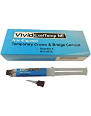 Vivid Exeltemp Ne - Non-Eugenol Temporary Crown & Bridge Cement, Automix Syringe Standard Package