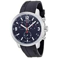 Tissot Men's T0554171705700 PRC 200 Analog Display Swiss Quartz Black Watch