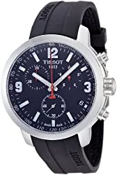 Tissot Men's T0554171705700 PRC 200 Analog Display Swiss Quartz Black Watch