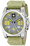U.S. Army Wrist Armor Men's 37WA020401A Watches Analog Display Swiss Quartz Green Watch