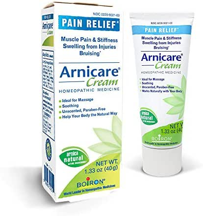 Boiron Arnicare Cream, Homeopathic Medicine for Pain Relief, 1.3 Ounce (Pack of 1)