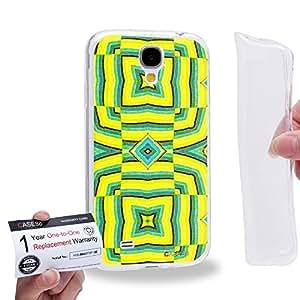 Case88 [Samsung Galaxy S4] Gel TPU Carcasa/Funda & Tarjeta de garantía - Art Fashion Visual Art Effect 23 1037