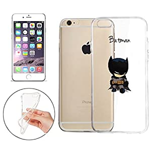Batman, Catwoman, Joker, Harley Quinn, Iron Man, Captain America, Spider Man, The Hulk, Thor, Deadpool Jelly Clear Case for Apple iPhone 7 PLUS at Gotham City Store
