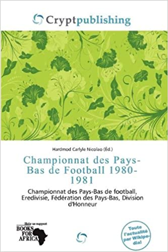 Read Championnat Des Pays-Bas de Football 1980-1981 pdf ebook