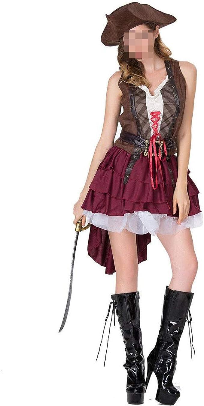 KODH Nuevas damas Disfraces de Halloween Juegos de rol Pirata ...
