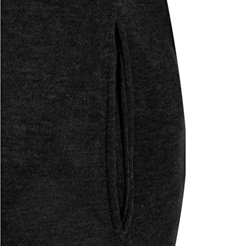 Blouse Gris Hoodie Capuche XXXXL Femme SHOBDW Casual Pullover Hauts Noir Hiver Mode Sport Sweatshirt Tops Manteau Blouson S Veste Noir Jumper fwOXTq