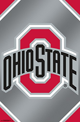 Trends International the Ohio State University-Logo Wall Poster, 22.375