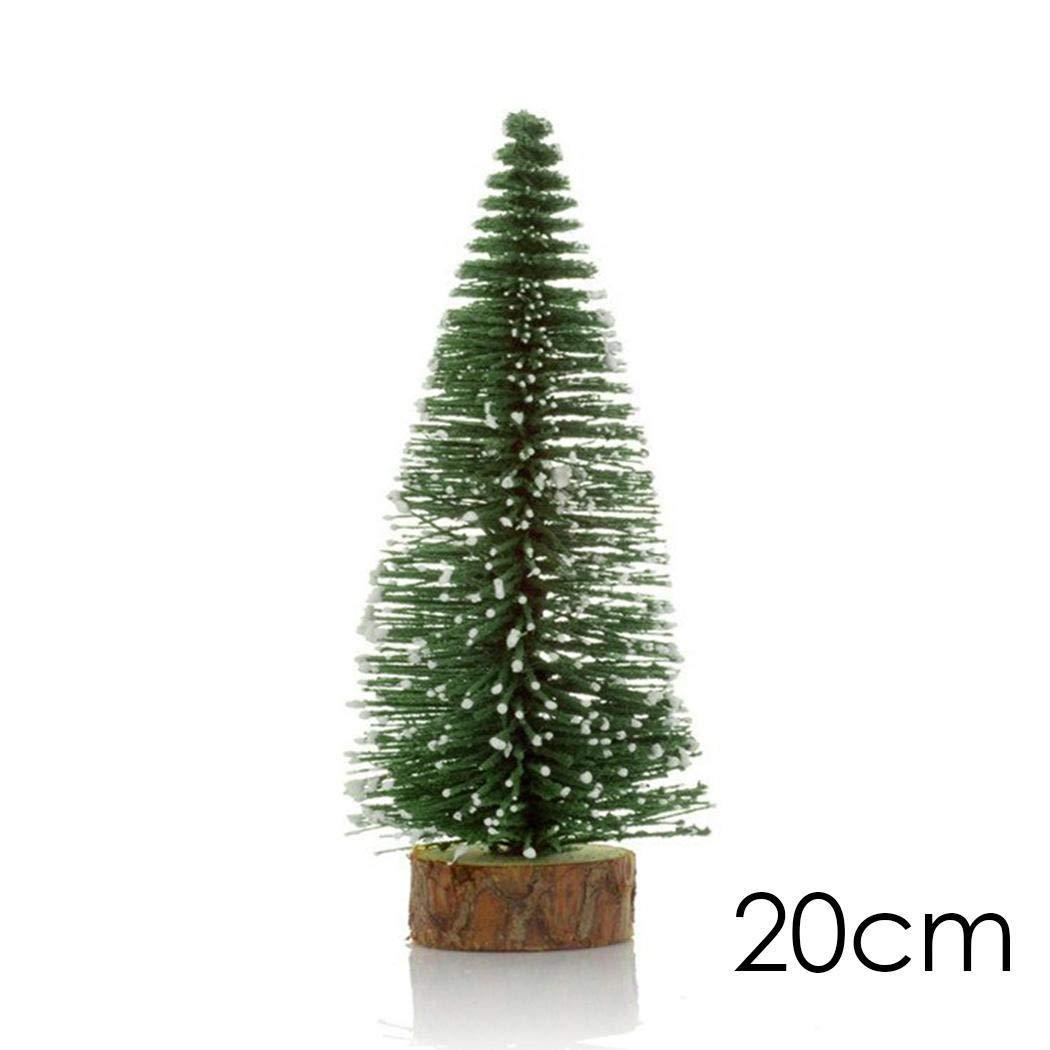 iloits Mini Cedar Tree Christmas Decoration Desktop Window