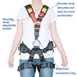 HEEJO Climbing Harness, Safety Harness Safe Seat