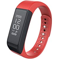 Red : Fitness Tracker, Semaco Wireless Smart Bracelet Activity Tracker with Step Counter Sleep Monitor Pedometer Activity Wristband