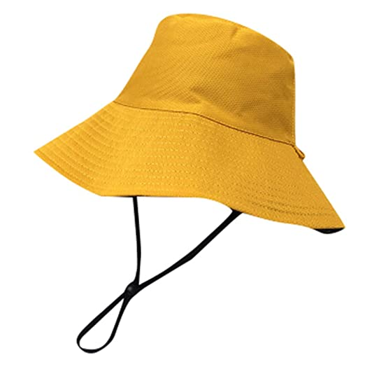 bf70766e62d Amazon.com  Sunyastor Outdoor Sun Hat UV Protection Bucket Mesh Boonie Hat  Fishing Hiking Cap Wide Brim Summer Hats for Women  Clothing