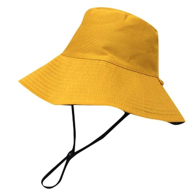 566ea23e8 Amazon.com: Sunyastor Outdoor Sun Hat UV Protection Bucket Mesh ...