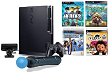 Sony PS3 Sports Champions Move System Bundle w Heroes and Carnival Island