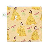 Bumkins Disney Baby Reusable Snack Bag Large, Belle