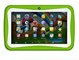 LLLccorp 7 inch Kids Education Tablets RK3126 Quad core Android 5.1 Bluetooth 1GB+8GB Kids Games & Apps Mini Tablet PC (Green)