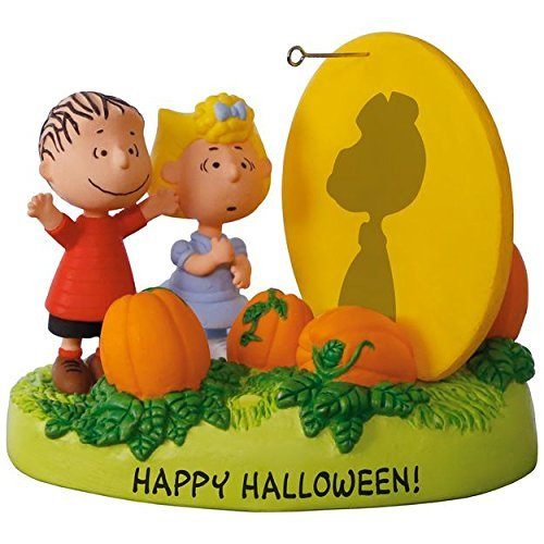 Hallmark PEANUTS The Great Pumpkin Rises Sound Ornament With Light -