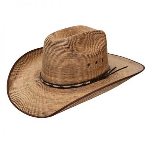 (Resistol Jason Aldean Boys Amarillo Sky Jr. Straw Cowboy Hat Tan One Size )