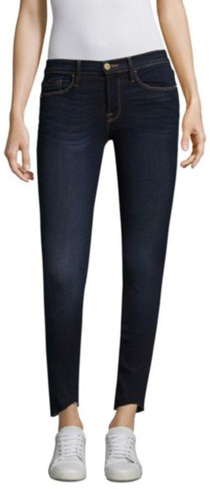 FRAME Women's Le Skinny De Jeanne Scoop Jeans, Baylis, 27