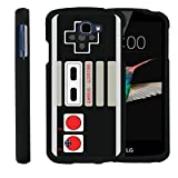 MINITURTLE Case Compatible w/ [LG K4 Case, LG Optimus Zone 3 Case, LG Spree, LG Rebel Case][Snap Shell] Hard Plastic Slim Fitted Snap on case w/ Unique Designs Game Controller For Sale