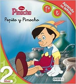Pinocho. Pepito y Pinocho. Lectura Nivel 2  Aprendo las letras  p 4323f3454bd