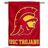 USC Trojans Trojan Head House Flag Banner